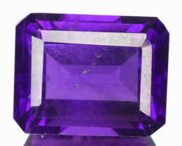 2.61 CTS UN HEATED PURPLE VIOLET NATURAL AMETHYST LOOSE GEMSTONE