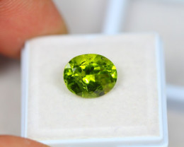 PROMOTION SALES 4.15Ct Green Peridot Oval Cut Lot LZ1824