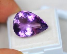 15.99Ct Purple Amethyst Pear Cut Lot LZ1833