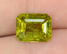 1.71 UNTREATED GREEN COLOR NATURAL TOURMALINE GEMSTONE