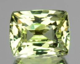 Natural Chrysoberyl Lime Green 0.97 Cts Cushion Cut Sri Lanka