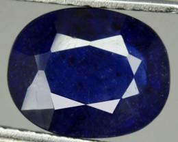 3.23 Cts Sapphire Composite Blue Oval Cut Madagascar