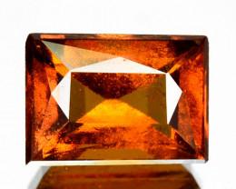 ~CINNAMON ORANGE~ 2.07 Cts Natural Hessonite Garnet Baguette Sri Lanka