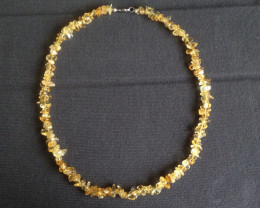 Natural Citrine Necklace 150.00ct.