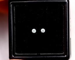 1.70mm Natural D-F Colour VVS Loose Diamond Pair