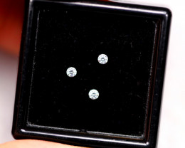 1.90mm Natural F Colour VS Loose Diamond 3pcs Lot