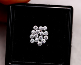 1.90mm Natural H Colour VS Loose Diamond 15pcs Lot