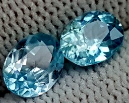 2.65CT BLUE ZIRCON  BEST QUALITY GEMSTONE IGC58