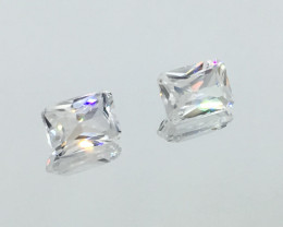 2.60 Carat VVS Zircon - Diamond White Color Precision Flash and Quality !