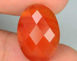 9.46 CTS UNHEATED SHINY ORANGE COLOR NATURAL CARNELIAN GEMSTONES
