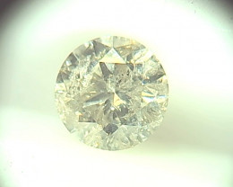 1.02ct K/I2  Diamond , 100% Natural Untreated