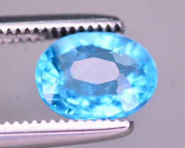 AAA Quality 1 Ct Neon Blue Color Natural Apatite ARA
