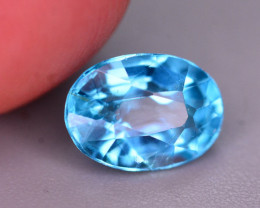 AAA Quality 1.15 Ct Neon Blue Color Natural Apatite ARA