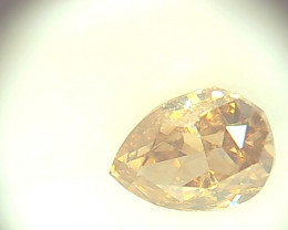 0.21ct Fancy Brown  Diamond , 100% Natural Untreated