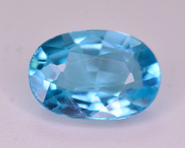 AAA Quality 0.95 Ct Neon Blue Color Natural Apatite ARA