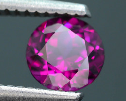 Rare 1.24 ct Grape Garnet one of a Kind Fire Mozambique SKU.9
