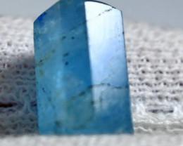 10.05 CT Unheated ~ Natural Blue  color Aquarine Handmade Crystal
