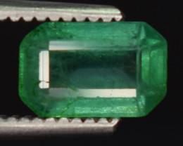 0.70 carats Natural green color Emerald gemstone