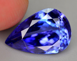 GGL Certified 6.05 Ct Brilliant Quality Natural Tanzanite. ARA