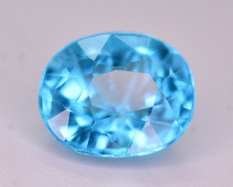 AAA Quality 1.15 Ct Neon Blue Color Natural Apatite. ARA