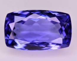 GGL Certified 5.15 Ct Top Quality Natural Tanzanite. ARA