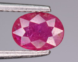 1 Carats Natural Ruby Gemstone