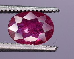 0.65 Carats Natural Ruby Gemstone