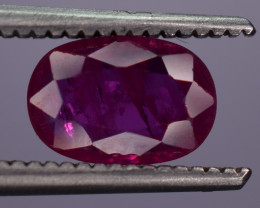 0.80 Carats Natural Ruby Gemstone