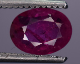 0.70 Carats Natural Ruby Gemstone
