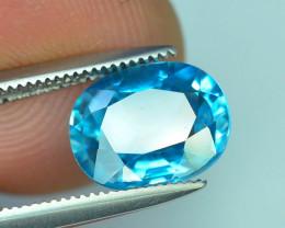AAA Brilliance 2.80 ct Blue Zircon Cambodia