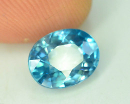 AAA Brilliance 3.55 ct Blue Zircon Cambodia