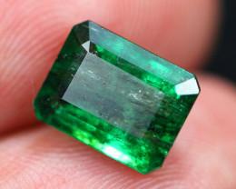 3.18Ct Natural Vivid Green Zambian Emerald  B1602