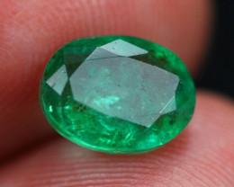 2.28Ct Natural Vivid Green Zambian Emerald  B1615