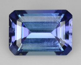 1.20 Ct Tanzanite Top Quality Gemstone TZ10