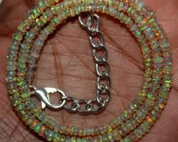 20 Crt Natural Ethiopian Welo Fire Opal Beads 152