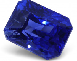 3.39 ct GIA Certified Madagascar Unheated Sapphire Radiant Cut