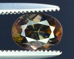 Rare 0.85 ct Multicolor Natural Axinite