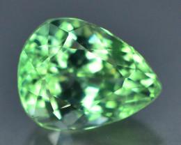 5.80 Ct Green Spodumene Gemstone From Afghanistan