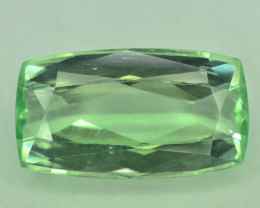 8.30 Ct Green Spodumene Gemstone From Afghanistan