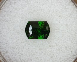 1,44ct Chrome Diopside - Master cut!