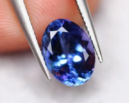 1.45cts Natural Violet Blue Tanzanite / 02