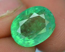 3.80 ct Natural Light Color Emerald~Panjshir ~T