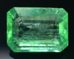 3.65 ct Natural Light Color Emerald~Panjshir T