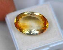 16.02Ct Yellow Citrine Oval Cut Lot LZ1834