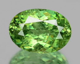 0.89 Cts Untreated Color Changing Natural Demantoid Garnet Gemstone