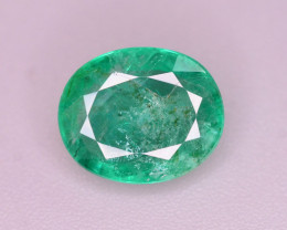 Amazing Color 2 ct Natural Zambian Emerald