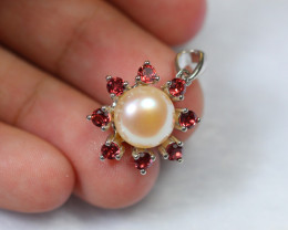 16.25cts 925 Sterling Silver Pandent /ZA316