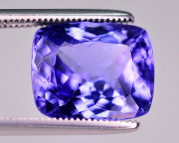 GGL Certified 5.45 Ct Superb Quality Natural Tanzanite. ARA