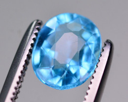 AAA Quality 1.15 Ct Neon Blue Color Natural Apatite