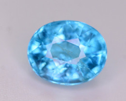 AAA Quality 2.15 Ct Neon Blue Color Natural Apatite